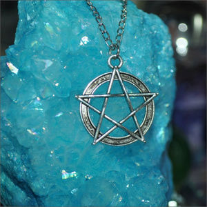Jewelry - Silver Pentagram Necklace